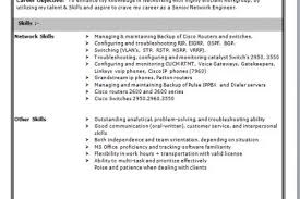 Resume Samples For Network Engineer by Cisco Network Engineer Cover Letter