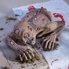 Zombie Decorations Zombie Dog Lights And Sound Skeleton Walking Dead Bones Prop