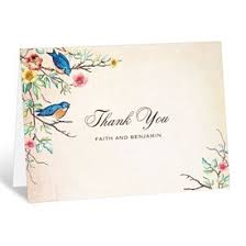 thank you cards wedding thank you cards s bridal bargains