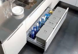 cassetti per cucina tecnoinox kit da cassetto con vaschetta per umido e differenziata