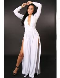 all white party dresses and jumpsuits plus size prom dresses
