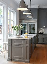 kitchen interior pictures the best gray paint colors for your kitchen