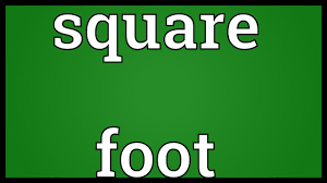 square foot meaning youtube