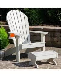 plastic adirondack chairs with ottoman check out these deals on bayou breeze deniela plastic adirondack