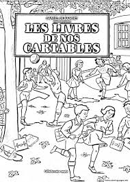 ecole vintage coloring pages printable