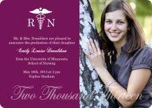 nursing graduation announcements nursing school graduation party announcement nursing