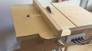 Table Jigsaw Building 4 In 1 Workshop Homemade Table Saw Router Table Disc