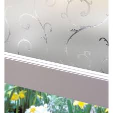 window cling tint bloss window film etched frosted privacy window