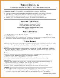 new grad rn resume exles nursing resume sles new grad resume exles 2017 new graduate