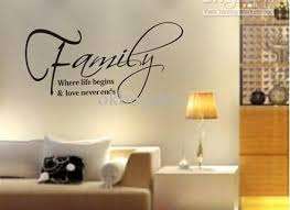 Family Wall Decal Set Of  Family Words Family Room Wall Family - Family room wall decals