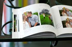 wedding guest book photo album unique wedding guest book ideas from blue sky papers