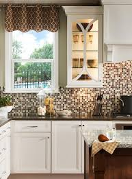 Kitchen Backsplash Contemporary Kitchen Other 18 Gleaming Mosaic Kitchen Backsplash Designs