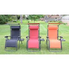 Zero Gravity Chair Table Styled Shopping Deluxe Padded Zero Gravity Chair With Canopy And