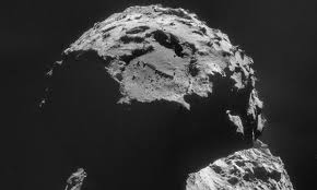 rosetta mission lander detects organic molecules on surface of