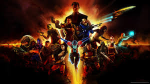 mass effect 2 characters fire collage screensaver for amazon kindle 3
