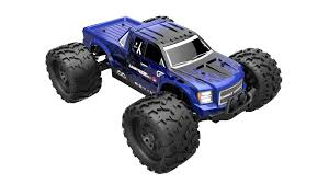 rc nitro monster trucks landlide xte 1 8 scale brushless electric monster truck