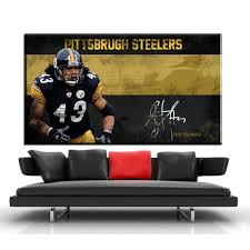 steelers halloween popular steelers canvas buy cheap steelers canvas lots from china