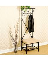 Black Hall Tree Bench Hall Trees Deals U0026 Sales At Shop Better Homes U0026 Gardens