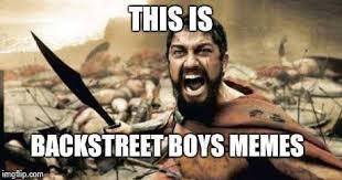 Backstreet Boys Meme - backstreet boys memes home facebook