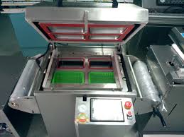 Vaccum Sealing Machine Vacuum Sealing Machine Semi Automatic With Nitrogen Gas Flushing