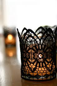 halloween candels black lace candles family chic by camilla fabbri 2009 2015 all