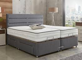 Westwood Comfort Furniture Westwood Mattress With Premium Slate Adjustable Divan Bed Medium