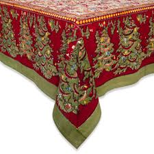 Oblong Table Cloth Christmas Trees Fabric Tablecloths Christmas Wikii