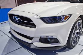 ford mustang limited edition 2015 ford mustang 50th anniversary edition comes to york