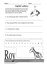 letters worksheet on capital letters free math worksheets for