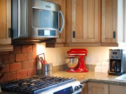 How To Install Upper Kitchen Cabinets Easy Under Cabinet Kitchen Lighting Hgtv