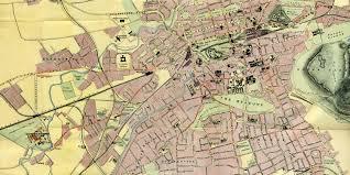 Edinburgh Map Edinburgh Map Transport To The 1908 Exhibition At Saughton