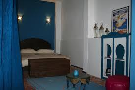 la chambre bleu riad meknes chambres d hôtes maroc riad el ma la chambre bleue
