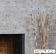 stone or tile for fireplace surround