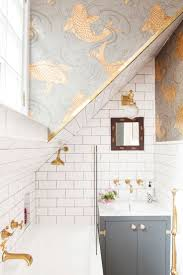 Wallpaper In Bathroom Ideas by Top 25 Best Powder Room Wallpaper Ideas On Pinterest Powder