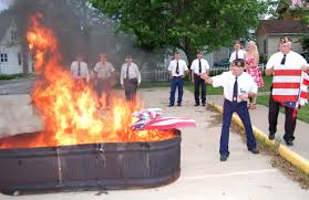Flag Burning Protest What Do You Think Of People That Burn The American Flag