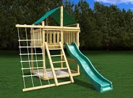 Backyard Play Forts by Top 25 Best Swing Set Kits Ideas On Pinterest Children U0027s Swing