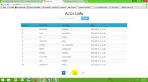 Bootstrap Data Table How To Create Pagination U0026 U0026 Search Data In Table Use Codeigniter