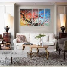 2015 hottest seller 3d effect abstract trees oil painting