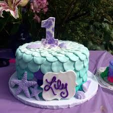 mermaid birthday cake my daughters birthday cake for mermaid themed party