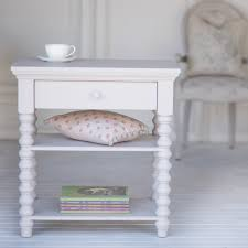 Pink Nightstand Side Table Alexander Spindle Night Stand By The Beautiful Bed Company