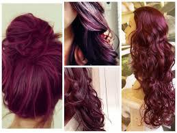 hair colours burgundy hair color ideas hair world magazine