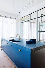 space around kitchen island best 25 blue kitchen countertops ideas on butcher