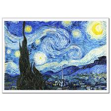 decor painting vincent van gogh starry night wall art decor for living room or