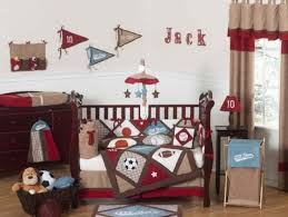 Jojo Crib Bedding Sweet Jojo Designs All Sports Blue And Brown Baby Boy