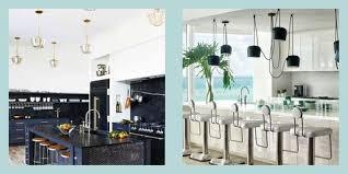 light blue kitchen cabinets uk 65 gorgeous kitchen lighting ideas modern light fixtures