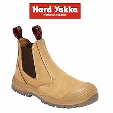 yakka s boots mens yakka utility gusset safety work boots memory foam anti