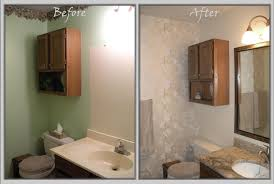 small bathroom makeover ideas remodeled small bathrooms before and after home decorating
