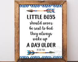 Little Boys Should Never Be Sent To Bed Peter Pan Nursery Little Boys Should Never Be Sent To Bed