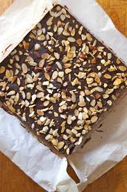 friday flowers campanulas and chocolate almond nougat recipe