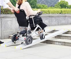 ruedamann telescoping portable wheelchair ramp 5 feet mr107 5 u2022 mh
